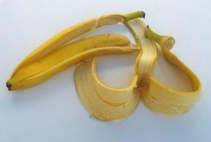 قشرة الموز